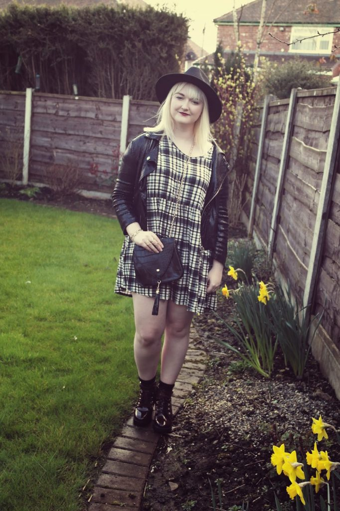 Missguided Checked Dress