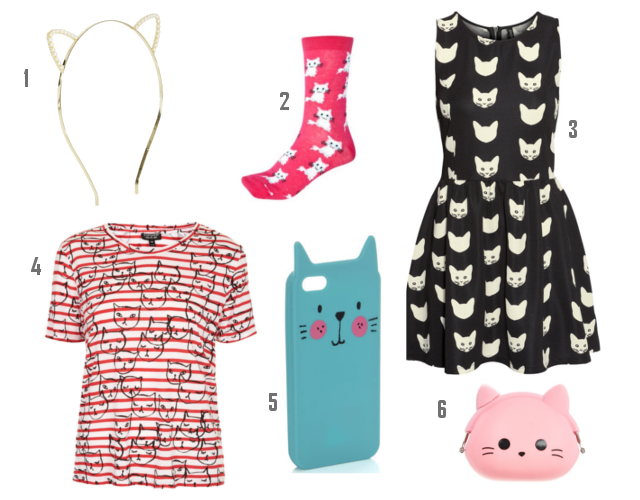 Cat Patterns Fashion UK