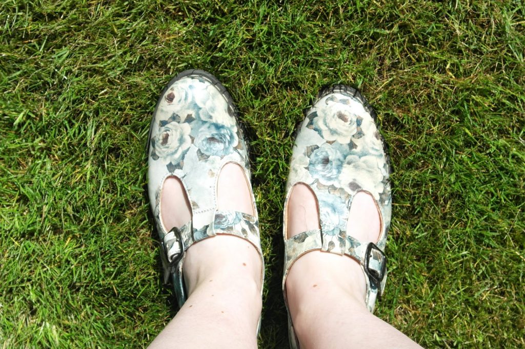 Summer Floral Brogues