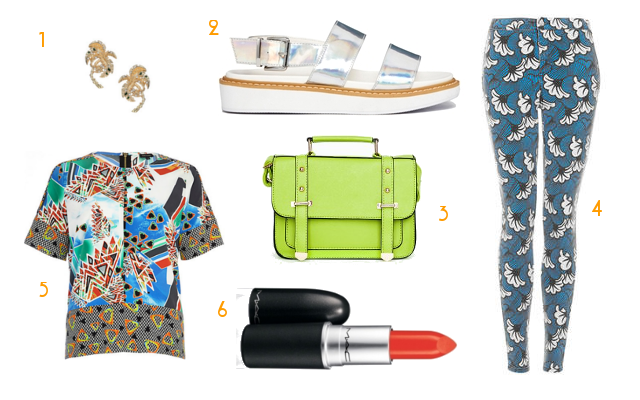 Tropicana Trend UK Fashion Blog